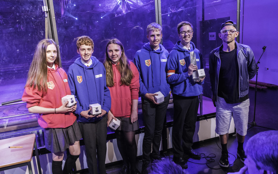 St Margaret Ward win 'Best Design' at Young Engineer of the Year 2019 Robot Wars final
