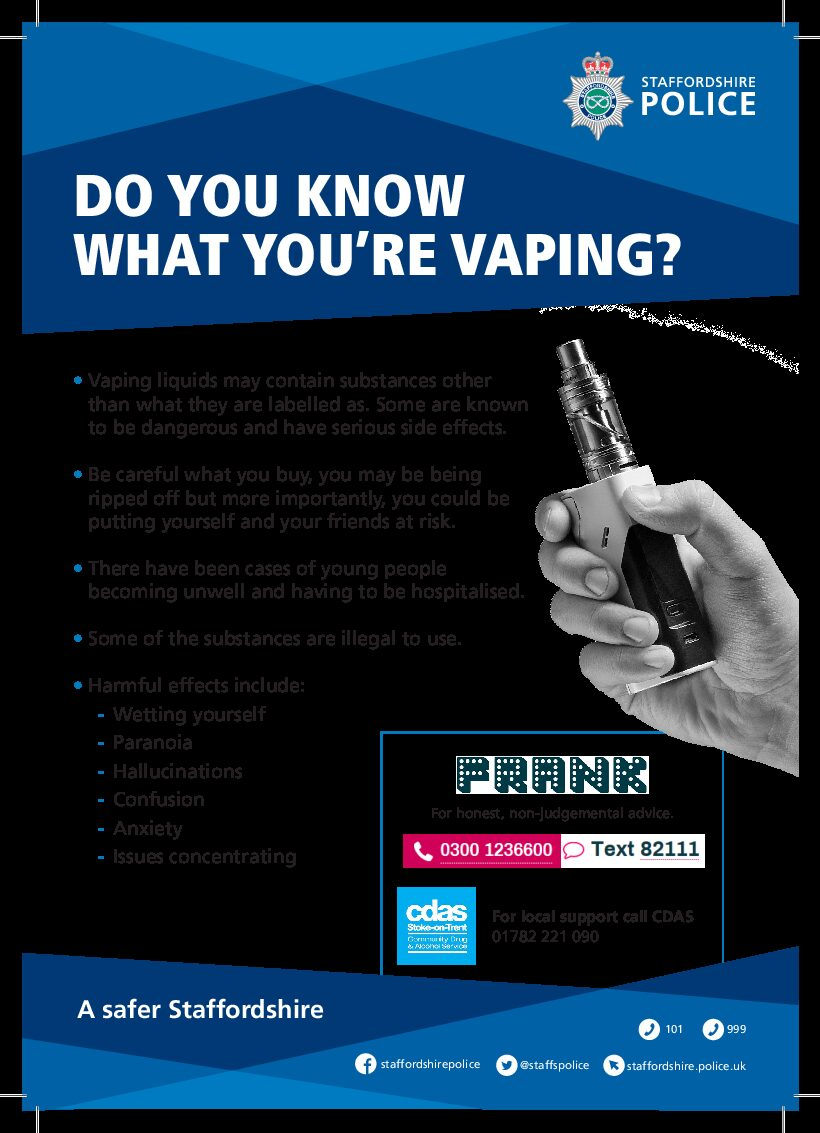 Do you know what you are vaping?